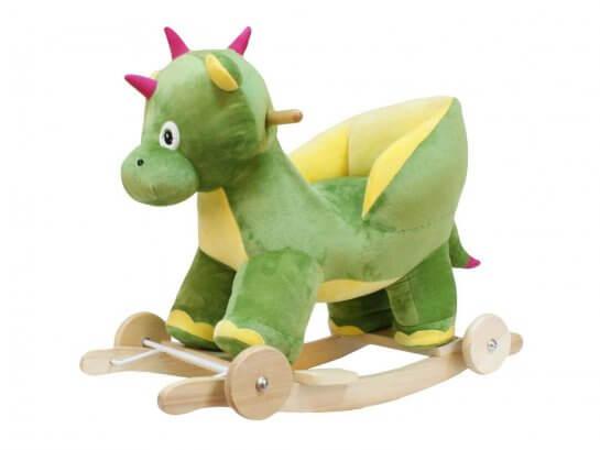 Dunjo Schaukeltier Dino mit Sitzschale
