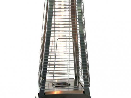 Ersatzglas 49cm für Heizstrahler Gomera 100cm