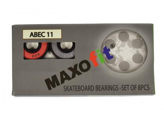 MAXOfit ABEC 11 Kugellager – 8 Stück – Mehrfarbig